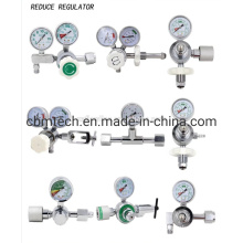 Oxygen Cylinder Regulator with Double Gauges