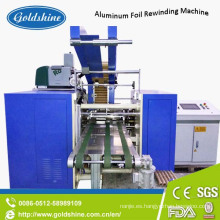 La máquina de rebobinado de la película de aluminio se aferra en papel de aluminio completamente automático con Ce
