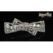 2015 Fashion Korean Bowknot Girls Rhinestone Hairgrip Crystal Hair Accessory