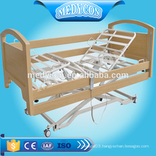 Extra low hospital electric nursing bed with three functions