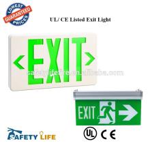 NEW LED Emergency Exit Light - High Output Bug Eye UL Fire Code Safety - ELMW2