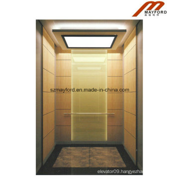 Titanium Stainless Steel Passenger Elevator with Machine Room