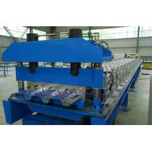 Piso decking hoja rodillo que forma la máquina, azulejo de piso de la cubierta del rodillo formando línea