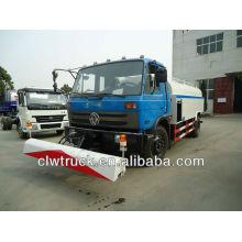 Dongfeng 190hp carro de riego con alta presión de limpieza de camiones