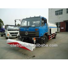 Dongfeng 190hp carrinho de água com caminhão de limpeza de alta pressão