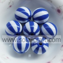 12MM 500Pcs brillante chino azul & blanco Multi colores Miyuki Wholesale resina grano plástico Onsale