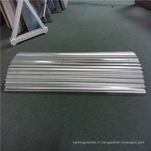 Cœurs en aluminium ondulé et panneaux en aluminium ondulé
