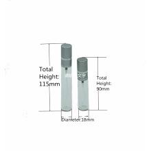 Botella tradicional de cristal del aerosol de la niebla del cuello 10ml 15ml de la encrespadura para el perfume