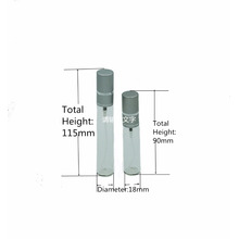 традиционные обжимной шеи 10мл 15мл штраф туман спрей стеклянная бутылка для духи