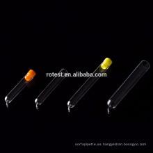 Tubo de prueba de orina de plástico PS (agujero de bugle)