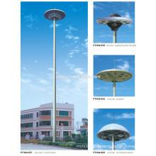 Q235B, Q345B elektrische Übertragung hohe Mast Stahl Pole Fabrik Preis