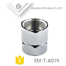 EM-T-A019 Sanitärzubehör Messing Galvanik Wasserhahn Schnellanschluss Joint