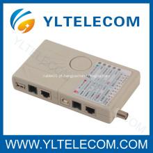 Testador de cabos multi Modular de rede