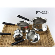 Stainless Steel Durm Type Milk Pot (FT-3314-XY)