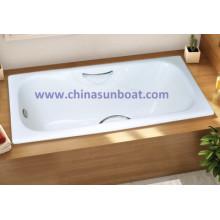 Sunboat Emaille Eingebettete Gusseisen Emaille Badewanne Home Emaille Badewanne