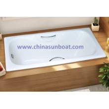 Sunboat Enamel Embedded Cast Iron Enamel Bathtub Home Enamel Bathtub