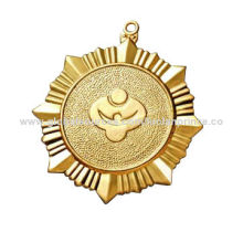 Gold and silver medal, customized designs are accepted, small orders are welcome