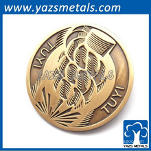 Promotional play metal coin