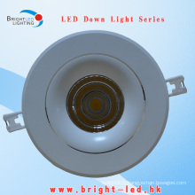 2015 Chine Fabricant 50W Bridgelux COB éclairage encastré à LED Downlight