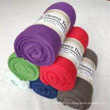 Окрашенное флисовое одеяло