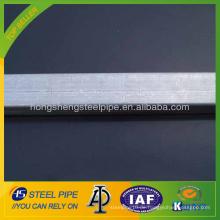 Heiß getauchtes verzinktes rechteckiges Stahlrohr