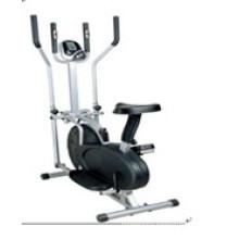 Indoor Fitness Bike Magnetic Upright Exercise Bike Home Trainer, Elliptical Machine, Fan Exercise Bike (uslf-02n)