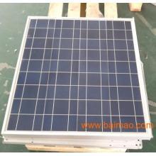 Módulo de silício policristalino de 60W, boa qualidade e alta eficiência, fabricante na China