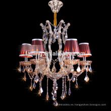 Lámparas cristalinas justas hechas en la fábrica de la iluminación de Zhongshan