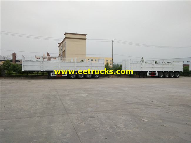 Cargo Transport Truck Trailer