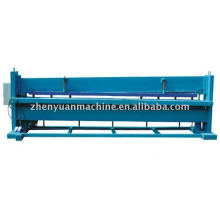 hydraulic cutting metal sheets machine