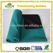 1mm Super Thin Towel Natural Rubber Travel Yoga Mat