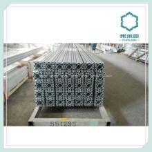 Linha de montagem de estilos personalizada usado perfil de alumínio