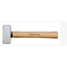Deutsche Art Stein Hammer mit Hickory-Holzgriff