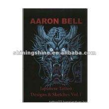 2016 hot sale japanese dragon tattoo flash book