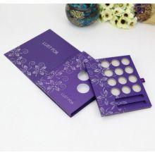 Caja de almacenamiento cosmética de la exhibición de la venta caliente para el sombreador de ojos