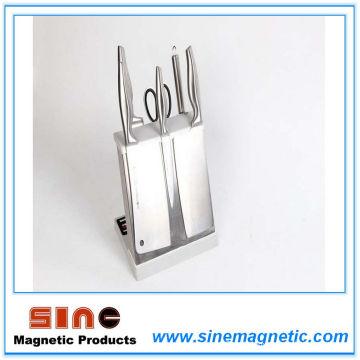Ventes directes d'usine de support de couteau magnétique de cuisine d'acier inoxydable