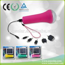 Alta qualidade CE Aprovado Solar Powered tocha LED piscando flash Light