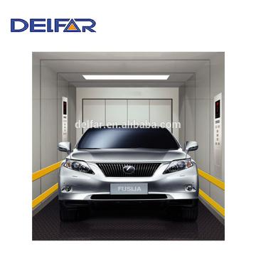 Meilleur ascenseur de grande voiture avec traction motorisée de l'ascenseur de voiture Delfar
