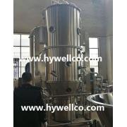 Máquina de secado fluidizada medicinal