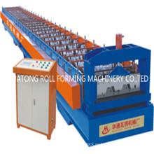 Máquina formadora de rollos de piso