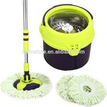 Spin mop 360 graus girar com balde de desaceleração turbo