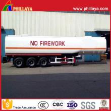 Öltanker-Transport-LKW-halb Anhänger-Stahldiesel-Kraftstofftank