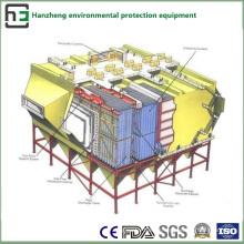 Amplio espacio de tratamiento del flujo de aire del colector electrostático lateral LF
