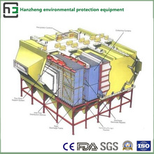 Широкое пространство обработки бокового электростатического коллектор-Lf воздушного потока