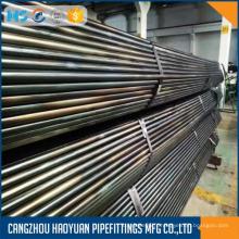 Tuyau sans couture d'acier au carbone d'ASTM A106 GR-B
