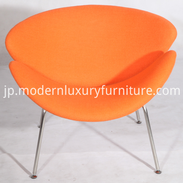 Pierre Paulin Orange Slice Chairs