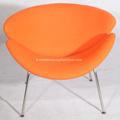 Cachemire Pierre Paulin Orange Slice Chairs