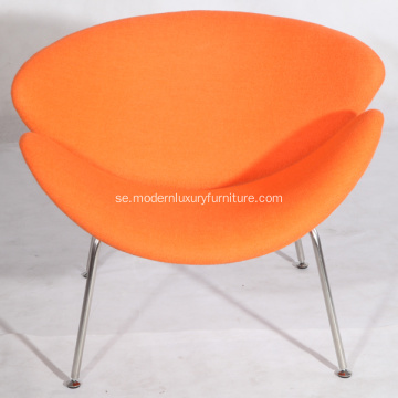 Cashmere Pierre Paulin Orange Slice Stolar