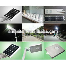 factory price 8w all in one solar street light motion sensor