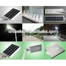 Preço de fábrica 8w tudo em um sensor de movimento solar da luz de rua